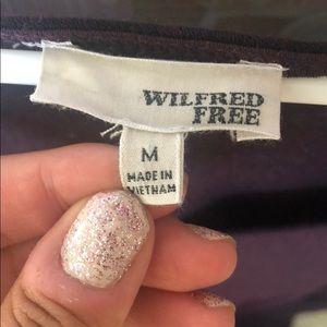 Purple Aritzia Dress - Wilfred Free